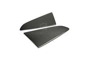 Anderson Composites  Ford Mustang Type-F Carbon Fiber Window Louvers (2015-2019)