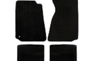 Lloyd Mats Mustang Black Floor Mats w/ No Logo (94-04 Coupe/99-04 Convertible)