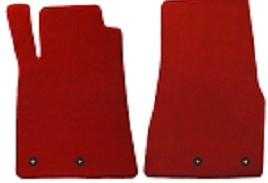 Lloyd Mats Mustang Red Floor Mats - Front only (11-12 All) DISCONTINUED