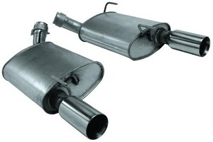 Ford Performance Mustang GT Special Edition Bullitt Axle-Back Exhaust (2005-2009)