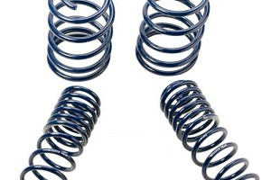 Ford Performance Mustang GT Track Lowering Springs (2005-2014)