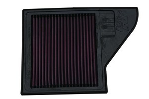 K&N/Ford Performance Mustang High Flow Air Filter (10-14)