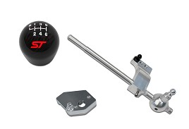Steeda Focus Short Shifter Kit and Ford Performance Carbon Fiber Shift Knob (2013-2019)