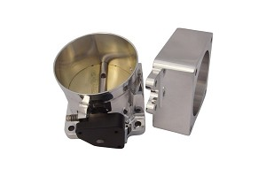 Accufab 5.0L Fox Body Mustang 90mm Race Throttle Body w/ Spacer (1986-1993 5.0L)