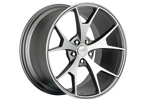Concept One Wheels CSM5 Matte Gunmetal Machined 20x9-20x11 (94-15)