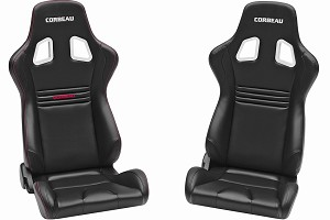 Corbeau Sportline Evolution Mustang Racing Seat - Pair (1979-2020)