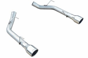 Pypes Mustang Muffler-Delete Axle-Back Exhaust (2005-2010 GT, GT500)