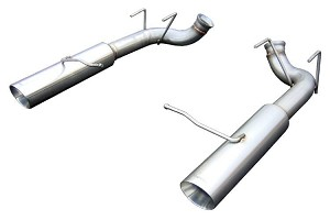 Pypes Mutang Pype-Bomb Axle-Back Exhaust (2011-2014 GT)