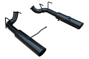 Pypes Mutang Pype-Bomb Axle-Back Exhaust Black (2011-2014 GT)