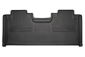 Husky Liners WeatherBeater Black SuperCab 2nd Seat Floor Liner (15-17 F-150 / F-250 / F-350 / F-450)