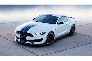 Kooks Mustang Shelby GT350/GT350R Green Catted X-Pipe (2015+)