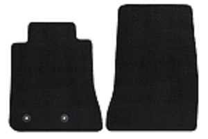 Lloyd Mats Mustang Black Floor Mat - Front Only (15-18 All)