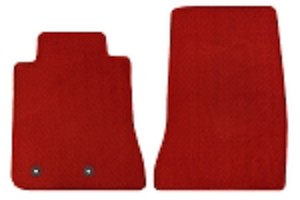 Lloyd Mats Mustang Red Floor Mat - Front Only (15-18 All)
