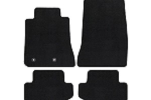 Lloyd Mats Mustang Black Floor Mats - Front & Rear (15-19 All)