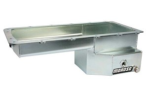 Moroso 5.0L Coyote Steel Oil Pan Mustang  (79-04 & 11-18)
