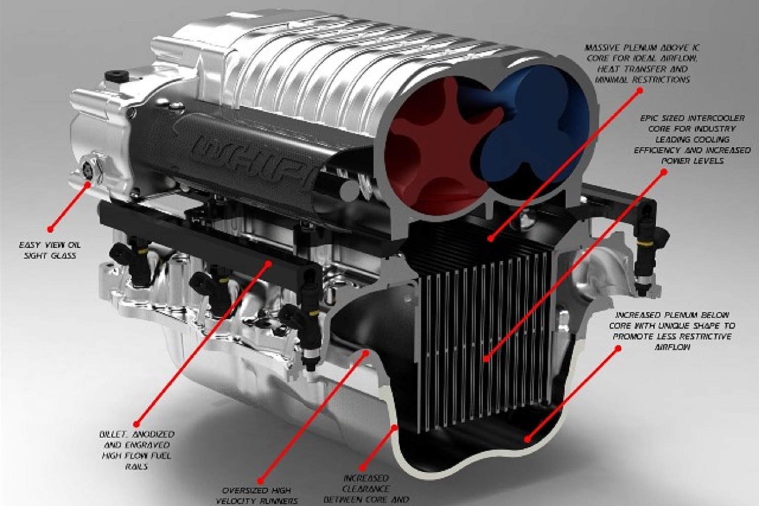 Whipple Mustang GT Supercharger System Stage 2 (11-14)